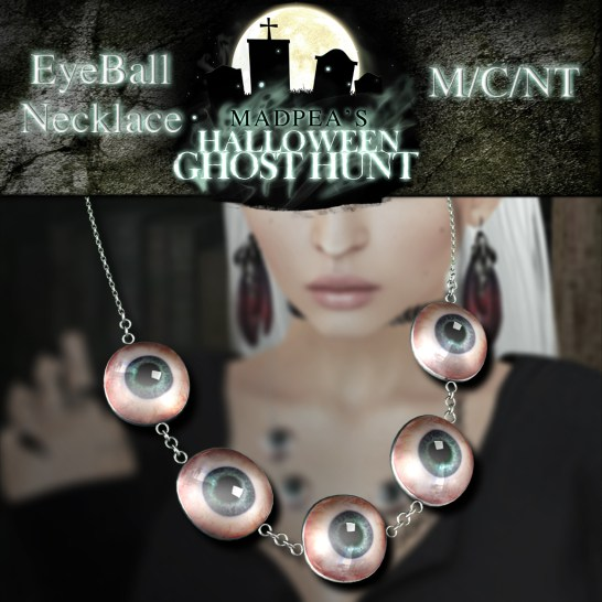 Eyeball Necklace - 1000 points