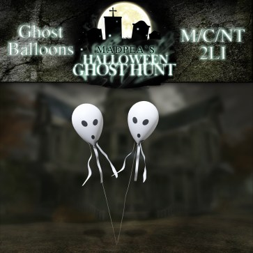 Ghost Balloons - 500 points
