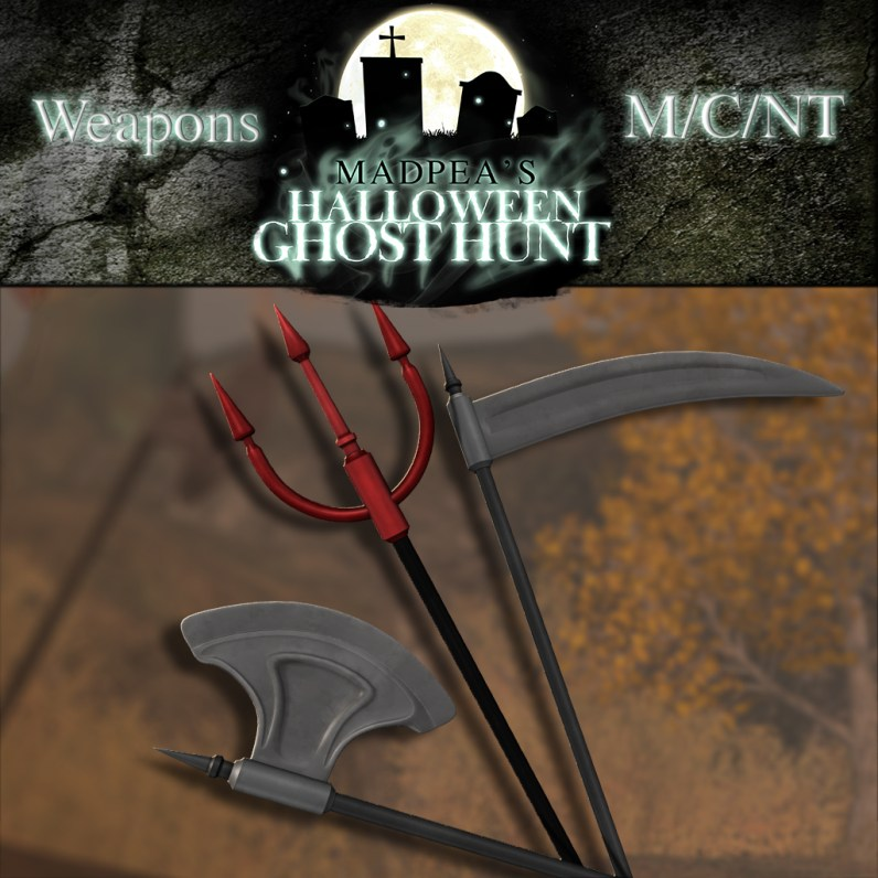 Halloween Weapons - 1000 points