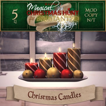 Christmas Candles - 1000 Points