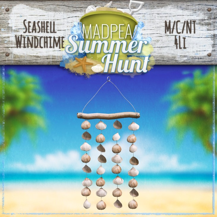 Seashell WindchimePRIZE