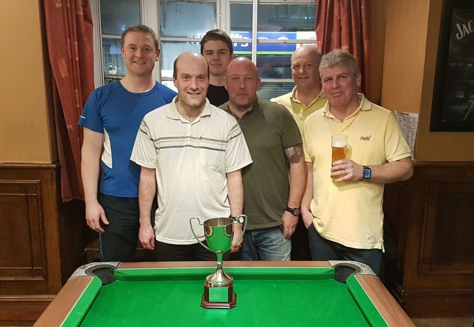 Well done to the Broughton Arms for winning the Fives against the Turnpike A