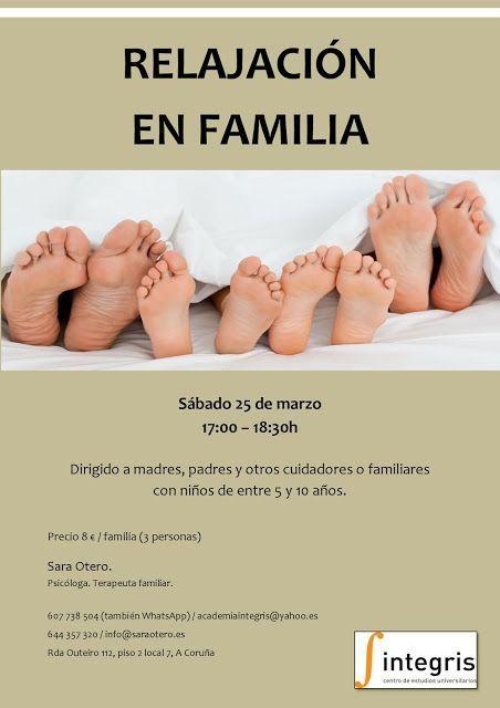 TALLER DE RELAJACIÓN EN FAMILIA por SARA OTERO