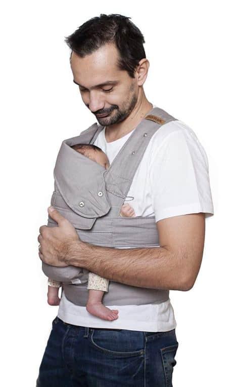 Ser madre de dos: 3 tipos de porteo ergonómico