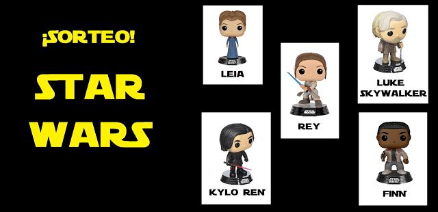 Sorteo FUNKO POP Star Wars