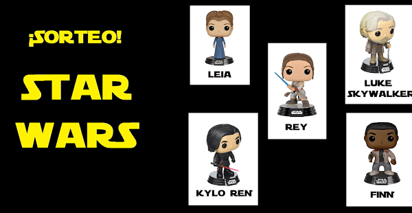 Sorteo FUNKO POP Star Wars