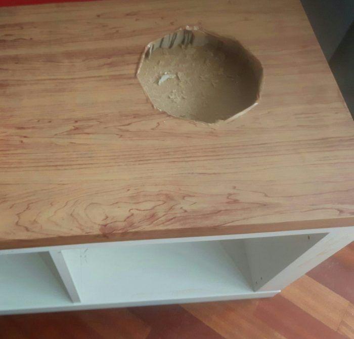 cocinita madera