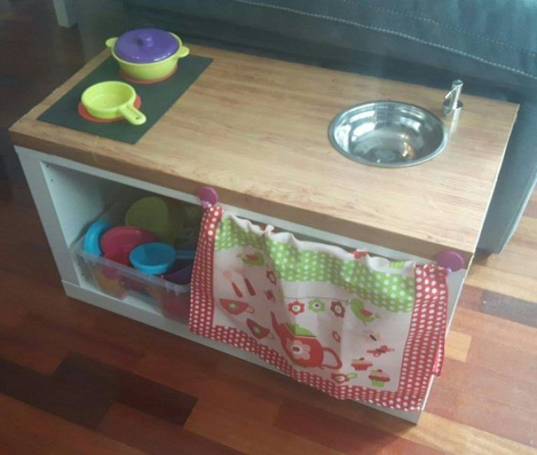 cocinita barata de madera para niños