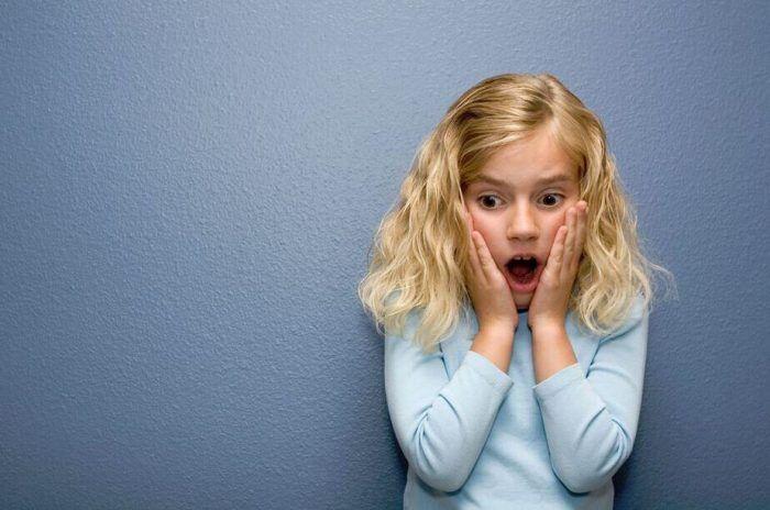 como son las fobias en niños