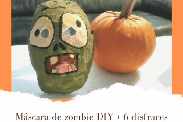 Máscara de zombie DIY + 6 disfraces populares para Halloween
