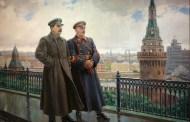 Il pittore sovietico Aleksandr Michajlovič Gerasimov