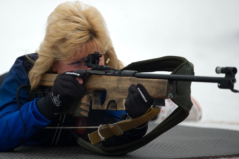 La regina del biathlon Anfisa Anatol'evna Reztsova