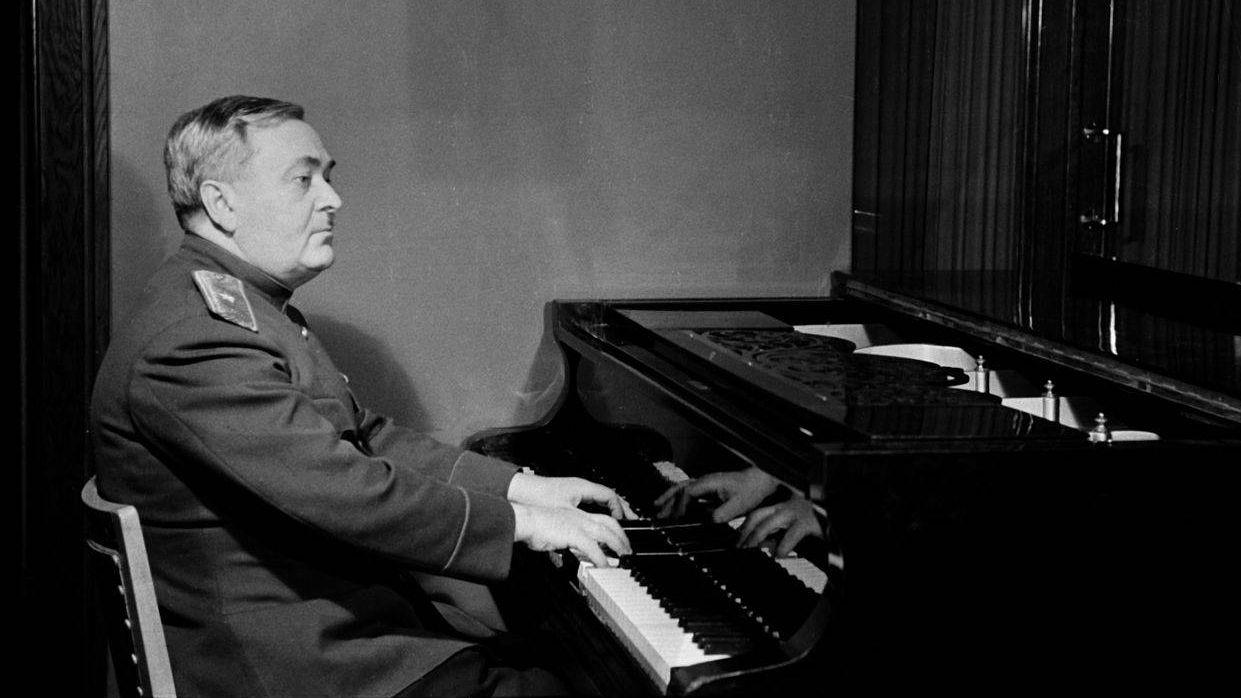 Il compositore della musica dell'Inno dell'Unione Sovietica: Aleksandr Vasil'evič Aleksandrov