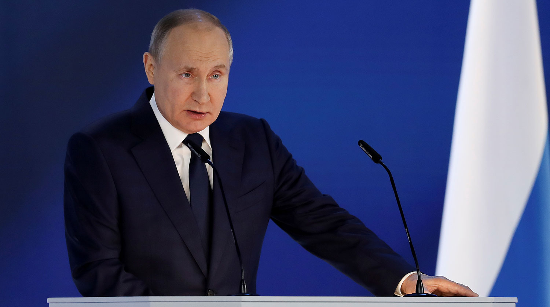 """Discorso del presidente Putin all'Assemblea Federale: """"la risposta della Russia sarà asimmetrica, rapida e dura"""""""