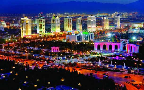 Aşgabat, la capitale del Turkmenistan