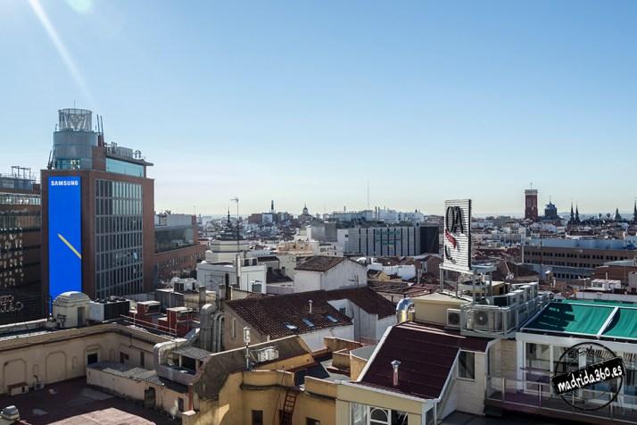 Vistas desde las terrazas
