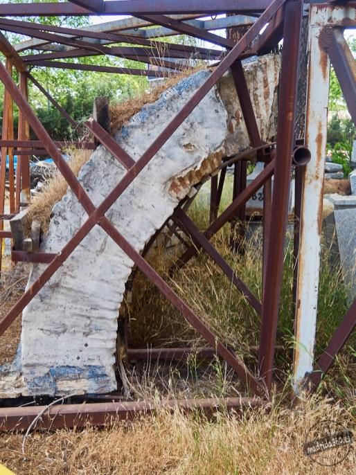 Elementos del antiguo Puente de Segovia