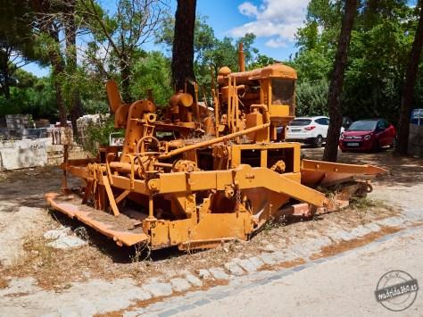 Antigua maquinaria
