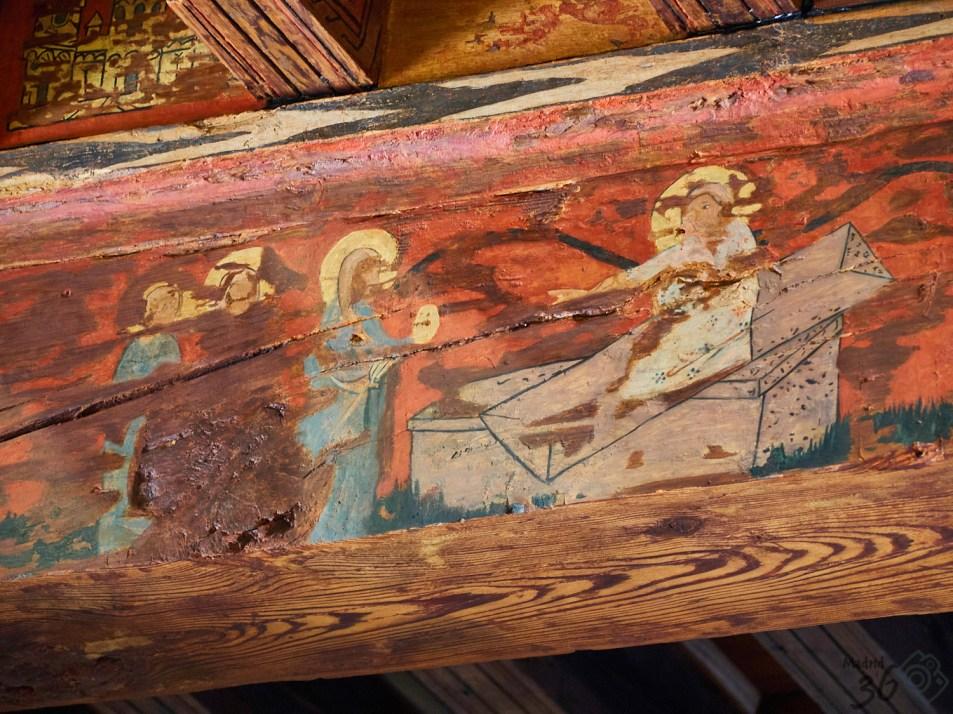 María Magdalena ante el sepulcro de Cristo
