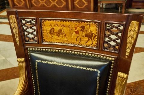 Detalle de las sillas