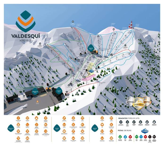Más vale tarde que nunca: La estación de Valdesquí abre temporada 1
