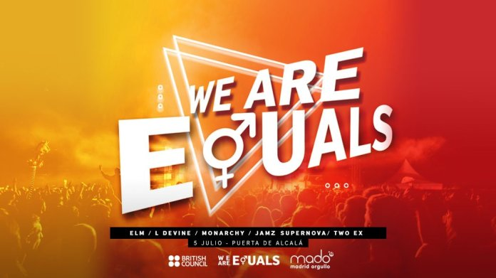 'We are Equals'. Conciertos de Orgullo 2019