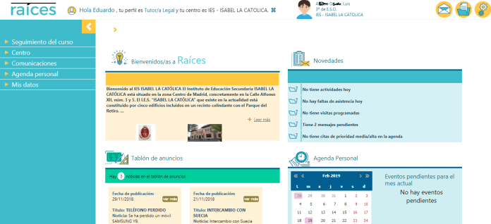 'Roble', la app de Educación que permite a los padres conocer las notas y la asistencia del alumno 2