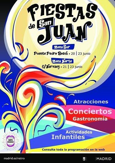 Fiestas de San Juan 2019 en la 'playa' de Retiro 1