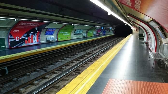 Metro reabre Príncipe de Vergara aunque continúan las obras 1