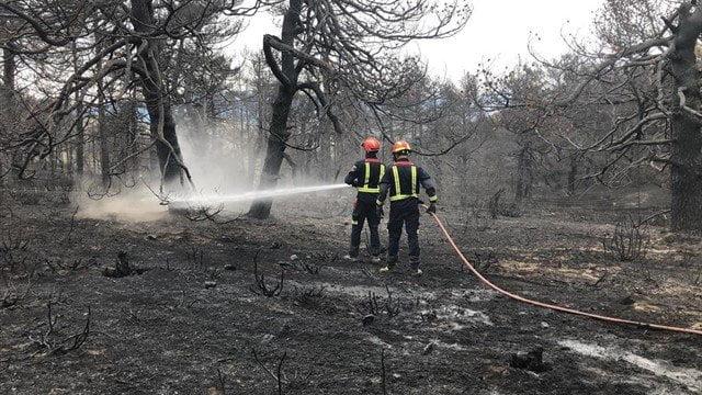bomberos comunidad de madrid incendios