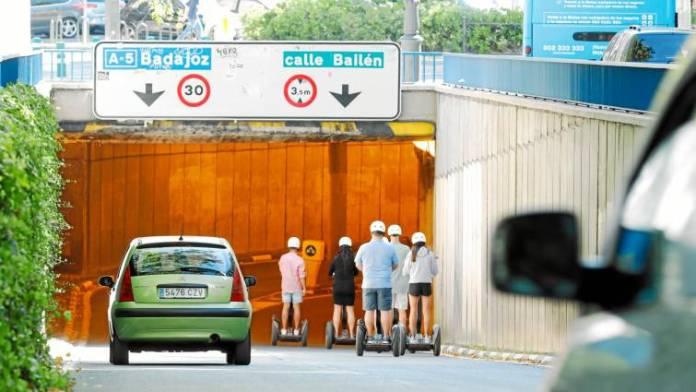 Túnel calle Bailén