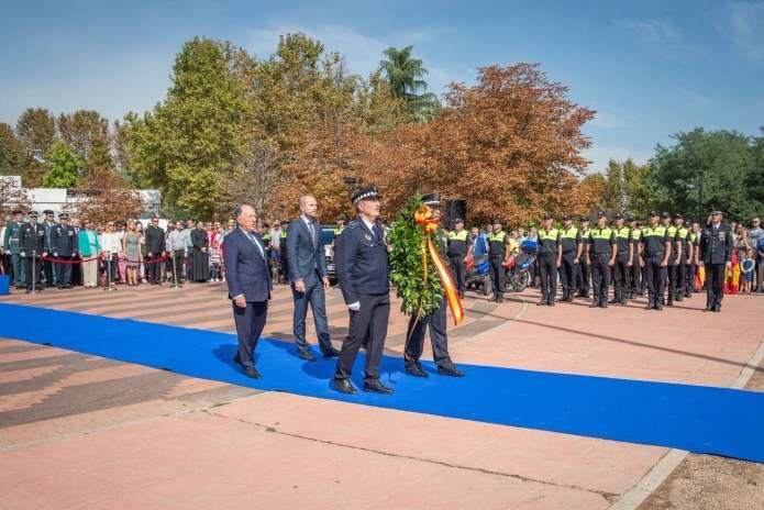 Álvarez Ustarroz reivindica el patriotismo en el homenaje a la Bandera en Majadahonda 3