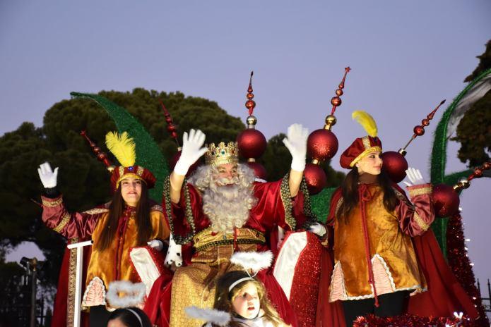 En imágenes | Sus Majestades Los Reyes Magos llegaron a Villaviciosa de Odón con una gran comitiva real 6