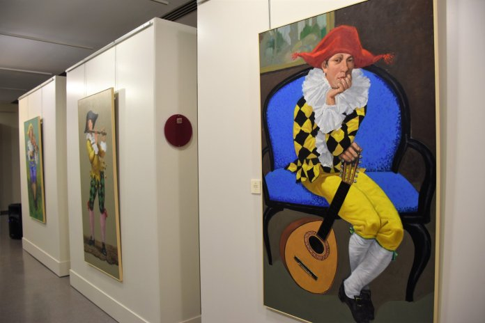 Vitalidad, fuerza y colorido en 'Mujeres con sombrero', la exposición de Manuel Sánchez Algora 1