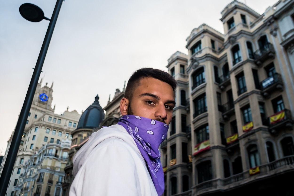 El 8M en Madrid en fotos 11