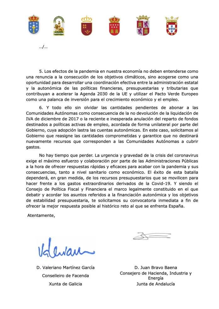 Cinco autonomías reclaman a Sánchez financiación sin condiciones, igual que España a la UE 4