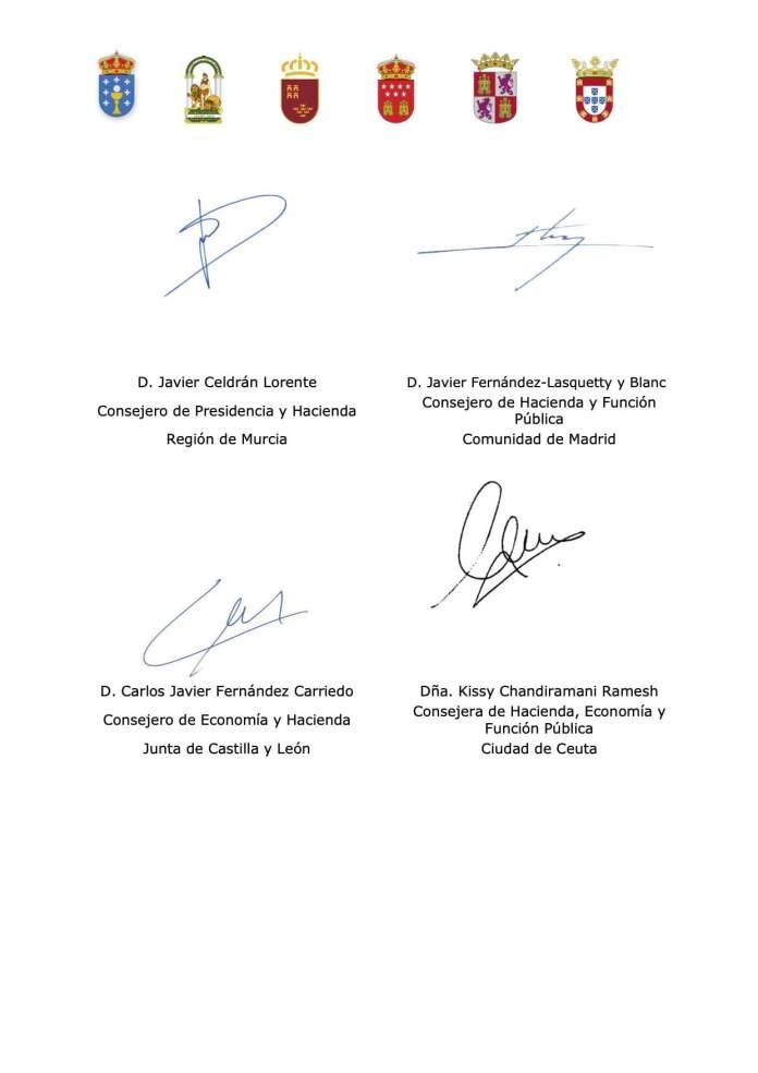 Cinco autonomías reclaman a Sánchez financiación sin condiciones, igual que España a la UE 5