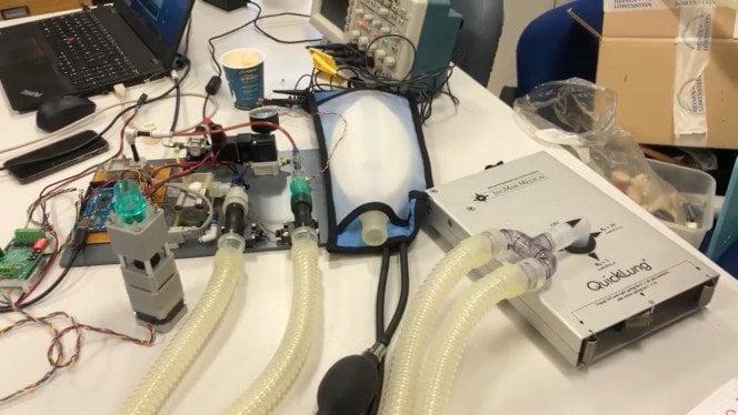 El innovador respirador que ultima el Hospital Gregorio Marañón 1