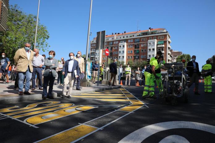 Más de 45 kilómetros nuevos de carriles bus en Madrid 2