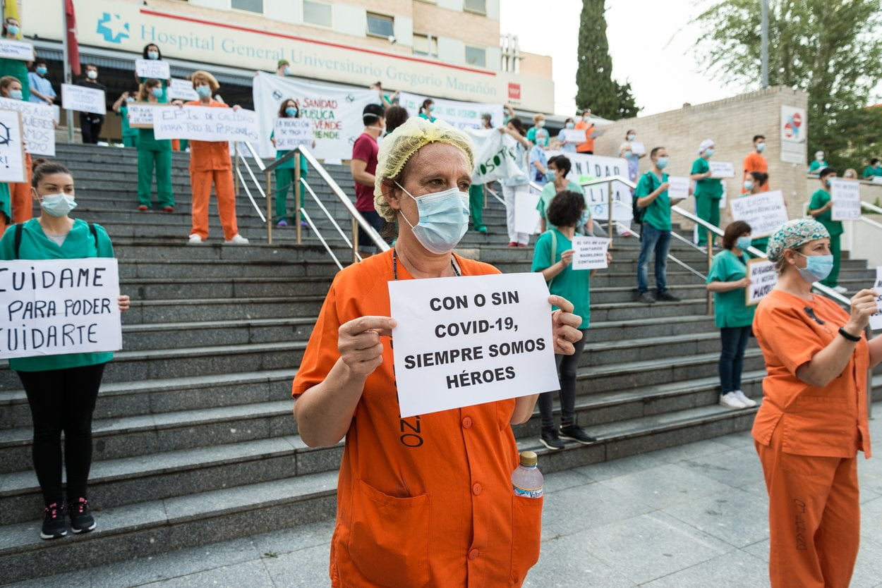 Sanitarios madrileños piden más 'refuerzos' 1