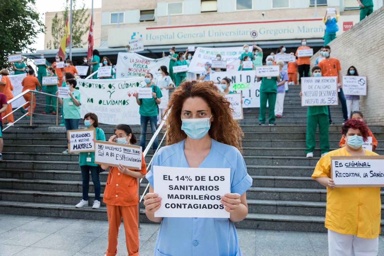 Sanitarios madrileños piden más 'refuerzos' 2