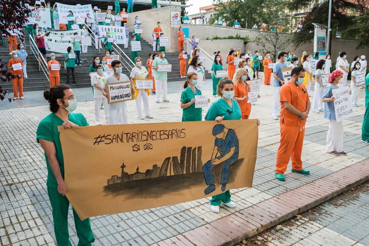 Sanitarios madrileños piden más 'refuerzos' 6
