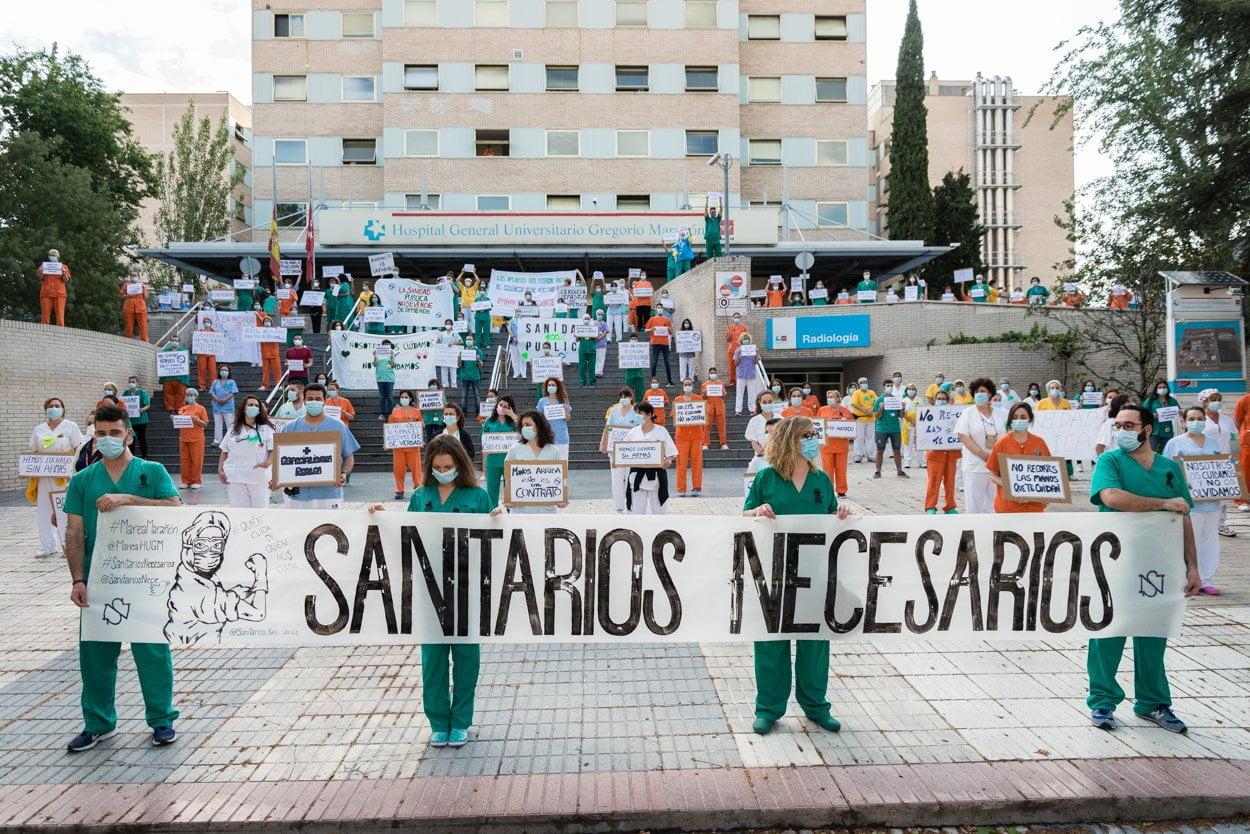 Sanitarios madrileños piden más 'refuerzos' 5