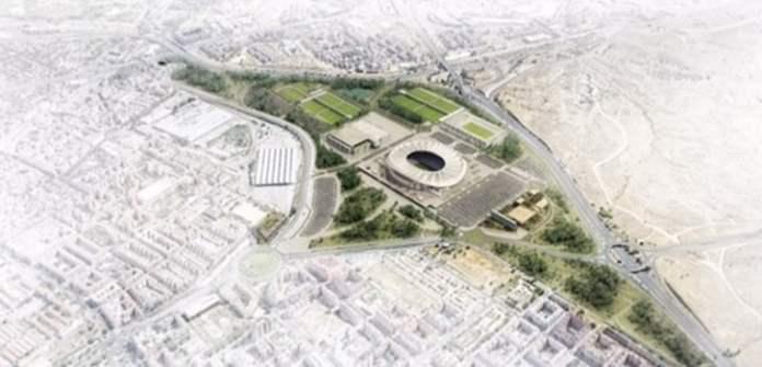 Así será la CIUDAD DEPORTIVA del Wanda Metropolitano 1