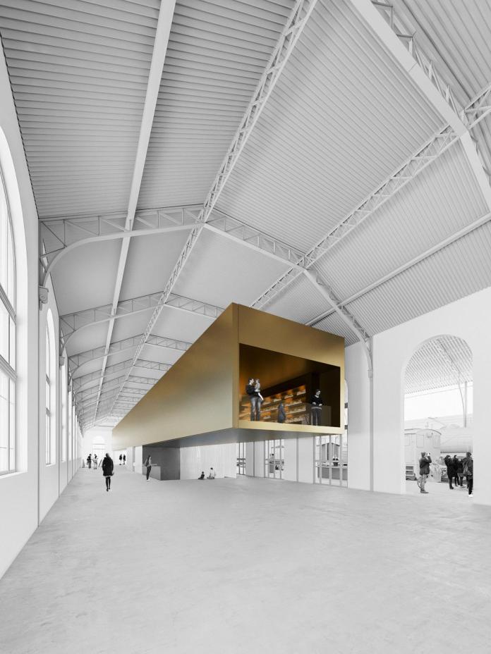Así será la nueva estación Madrid - Delicias, sede del Museo del Ferrocarril 1