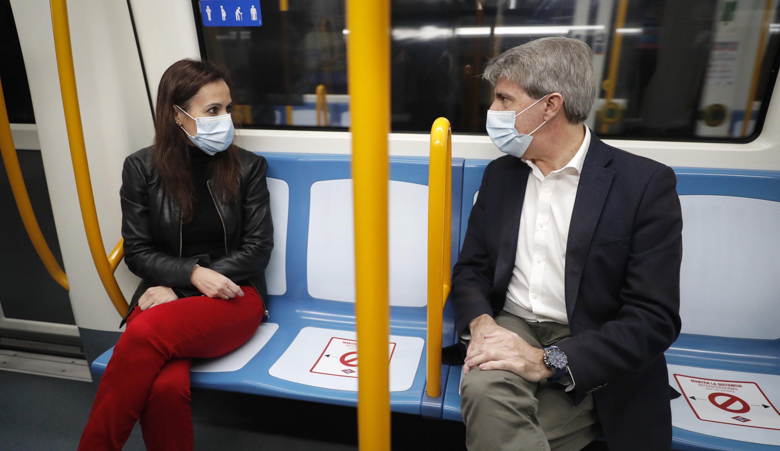 No será igual, pero será seguro: así viajaremos en Metro y EMT 3