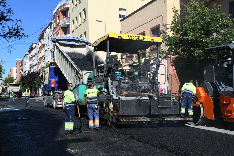 Operación Asfalto 2020 en Madrid: 659 calles y 1.600 empleos 1