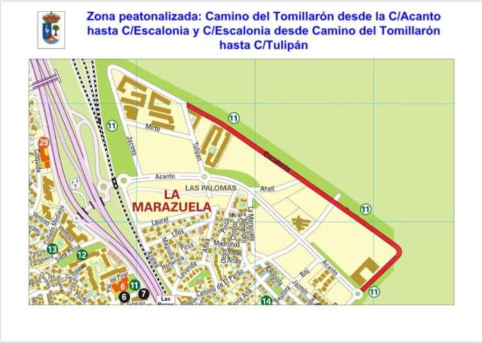 Las Rozas peatonaliza 4 km de calles para facilitar el distanciamiento social 3
