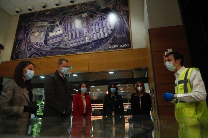 Felipe y Letizia visitan Mercamadrid: un recorrido 'real' a las 5:30 am 3