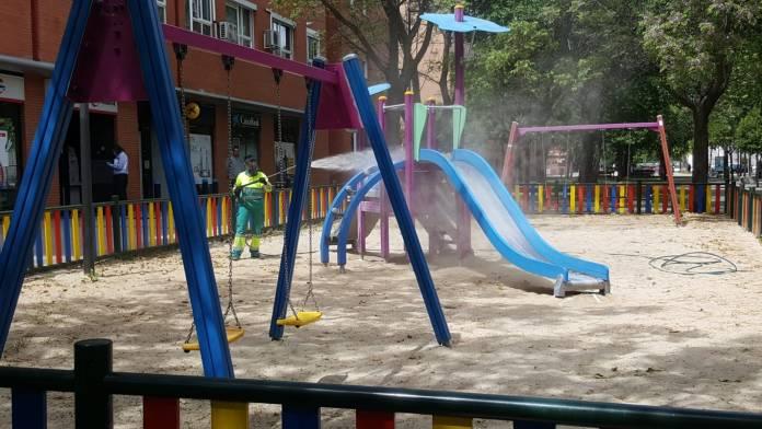 Las áreas infantiles de Getafe abren este lunes 22 de junio 1